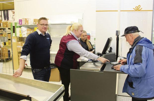 Miro Parjanen, K-Supermarket Hattula, palkittiin Hattulan yrittäjäpalkinnolla