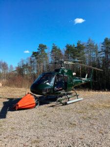 Heliair Finlandin tiedotteen mukaan yhtiöllä on käytössään ympäristöystävällisiä, mahdollisimman vähämeluisia ja erittäin toiminta- ja säävarmoja helikoptereita.